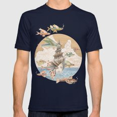 Sea dream Mens Fitted Tee Navy SMALL