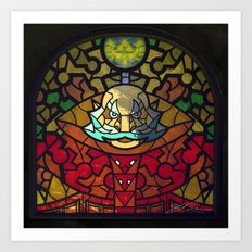 Sage Of Light Art Print
