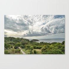 Costa Rica Pacific Canvas Print