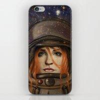 Give Me Space (Girl) iPhone & iPod Skin