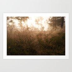 Fantasy forest Art Print
