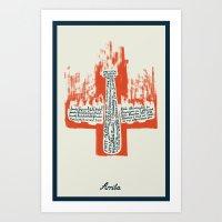Arriba Art Print