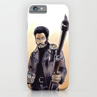iPhone & iPod Case featuring John Shaft (Are You Man Enough?) by Zombie Rust