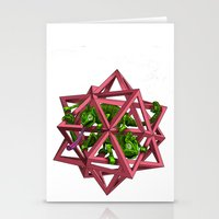 color me m.c. cubed! Stationery Cards