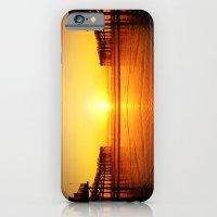 Pier Mirrored Sunset iPhone 6 Slim Case