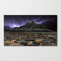 Electric Storm Canvas Print