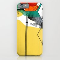 iPhone & iPod Case featuring yellow by jastudio