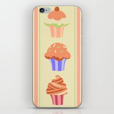 Yummy Cupcakes iPhone & iPod Skin