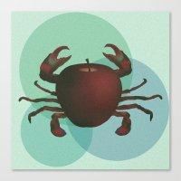 crabapple Canvas Print