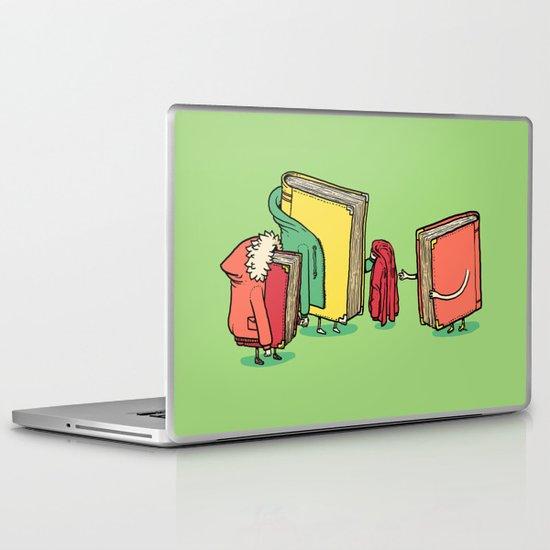Book Jackets Laptop & iPad Skin