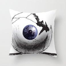 Broken Eye Throw Pillow