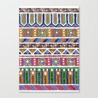 Mosaic N°1 Canvas Print