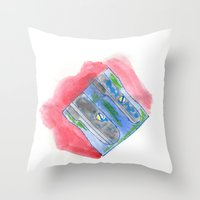 Sharpner Throw Pillow