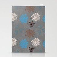 Earthy FlowerZ Stationery Cards