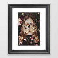 Deadly Girl Framed Art Print