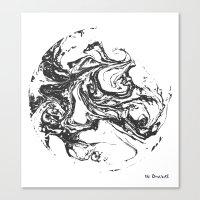Swirling World V.2 Canvas Print