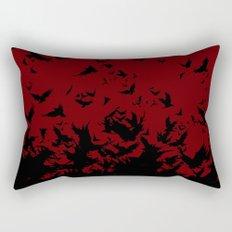 An Unkindness of Ravens Rectangular Pillow