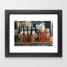 miel Framed Art Print
