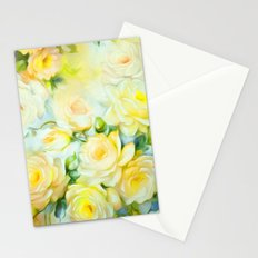 Shabby Chic Yellow Stationery Cards
