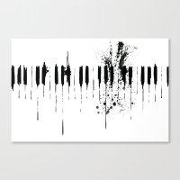 Black & White  Canvas Print