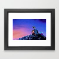 WALL-E (Painting Style) Framed Art Print