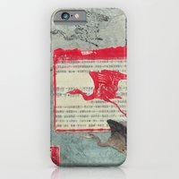 Blue Heron Collage iPhone 6 Slim Case