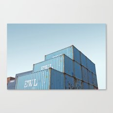Curaçao - Container Canvas Print