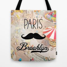 Paris Brooklyn ii Tote Bag