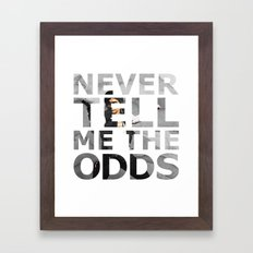 Star Wars Han Solo Quote Framed Art Print