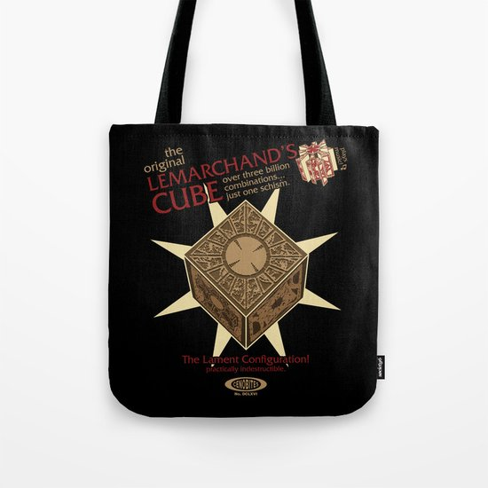 Lemarchand's Cube - Hellraiser Tote Bag