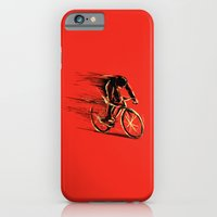 iPhone & iPod Case featuring BikeCycling by Enzo Lo Re