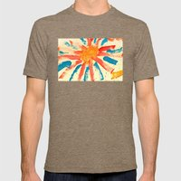 Sunny Day Mens Fitted Tee Tri-Coffee SMALL