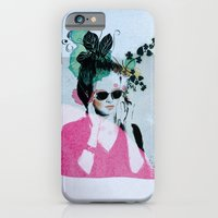iPhone & iPod Case featuring Sunglasses by Lorène Russo illustration