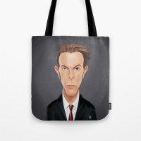 Celebrity Sunday - David… Tote Bag