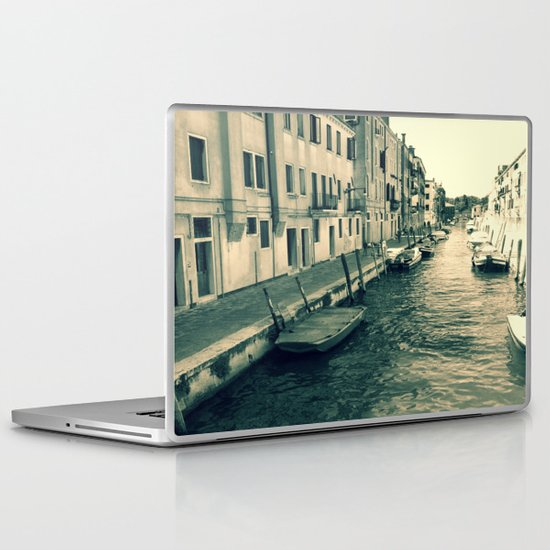 Venezia, where my heart is Laptop & iPad Skin