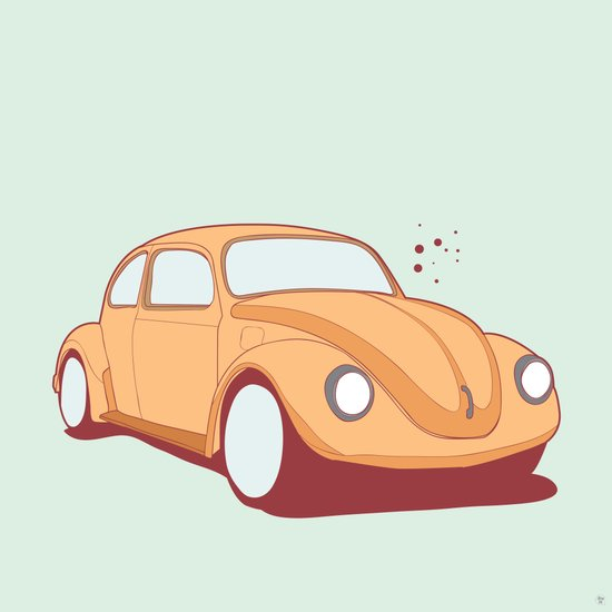 What's up BUG Art Print