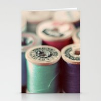 Spools Stationery Cards