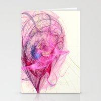 Spinning Top Nebula  Stationery Cards