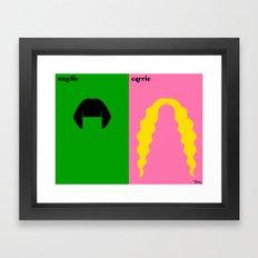 la romantique Framed Art Print