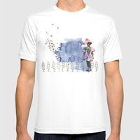 to grow up Mens Fitted Tee White SMALL