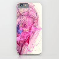 iPhone & iPod Case featuring Spinning Top Nebula Abstract Energy Fractal Art Decor by Virtualkee