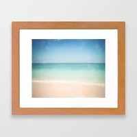 Seven Mile Beach Framed Art Print