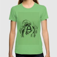 // A    Womens Fitted Tee Grass SMALL