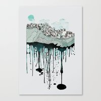 Don't Let It Go To Waste Canvas Print