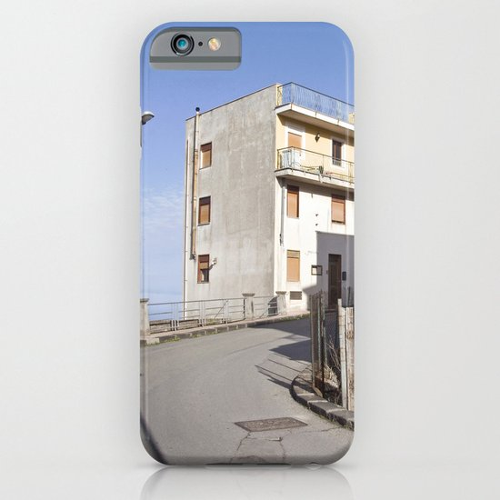 Little Village at the Sea - Forza d'Agro - Sicily  iPhone & iPod Case