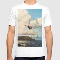 Fall Mens Fitted Tee White SMALL