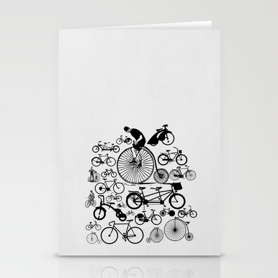 Bicycles Stationery Card
