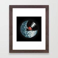 Discography Framed Art Print