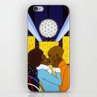 New York Kiss iPhone & iPod Skin