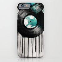 iPhone & iPod Case featuring infinite vinyl by vin zzep